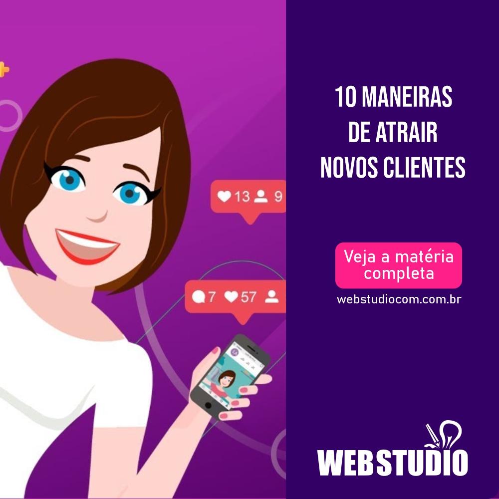 You are currently viewing 10 maneiras de atrair novos clientes