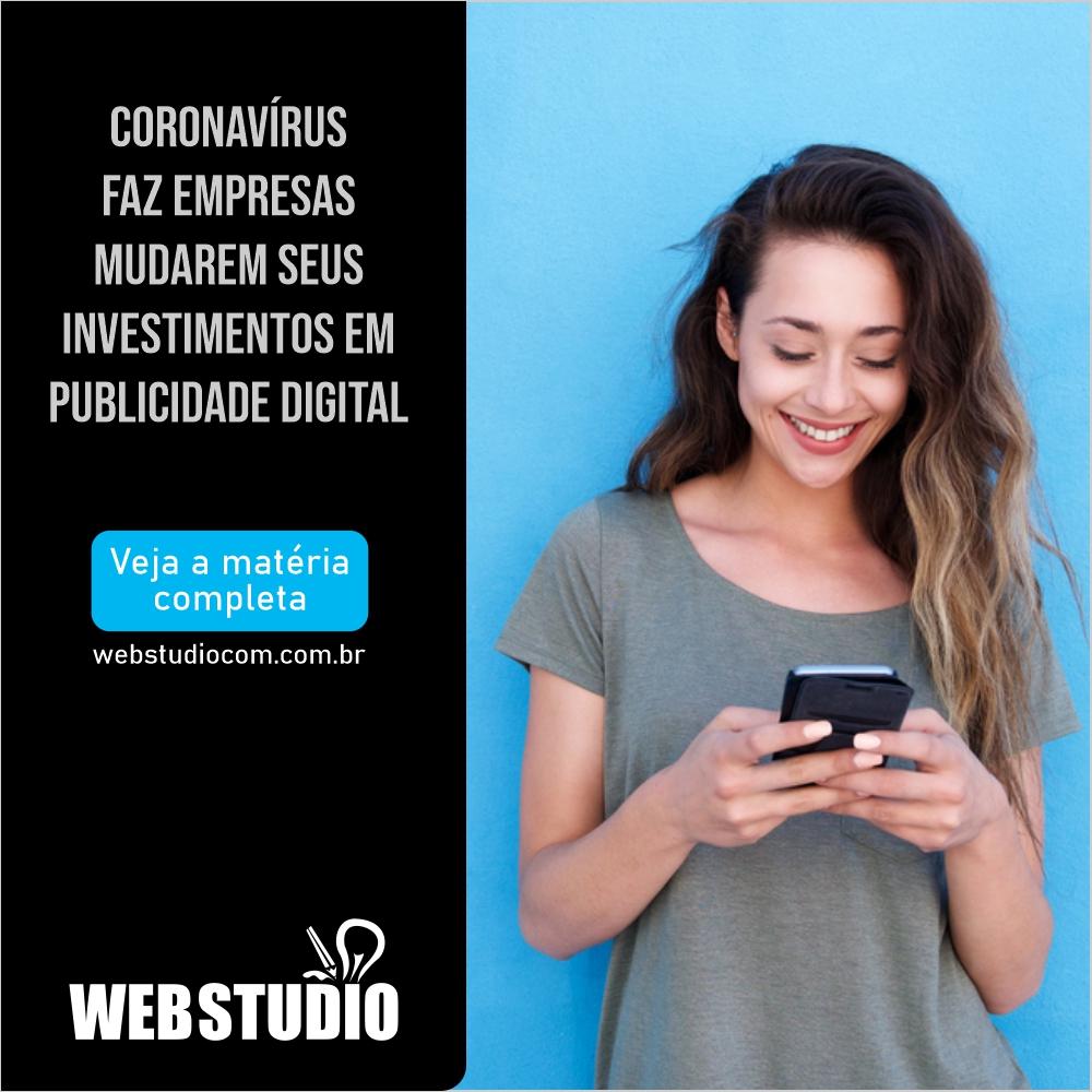 You are currently viewing Coronavírus faz empresas mudarem seus investimentos em publicidade digital